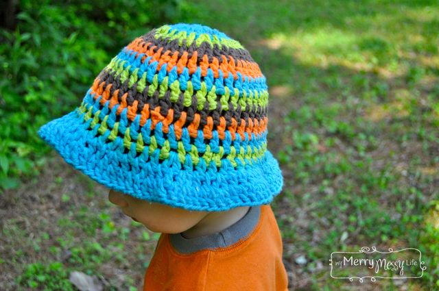 Crochet Summer Sun Hat Free Patterns For A Baby And Toddler Free