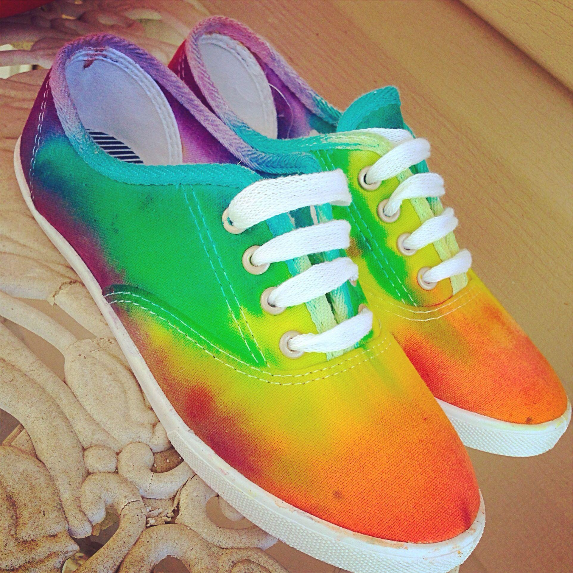 nike free express rainbow preschool crafts