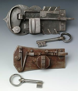 Spring Locks Plumb Farm Workshops Antique Keys Skeleton Key Lock Old Keys