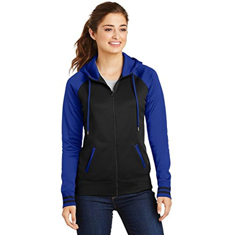 SportTek?LST236 Ladies Sport Wick?Varsity Fleece Full Zip