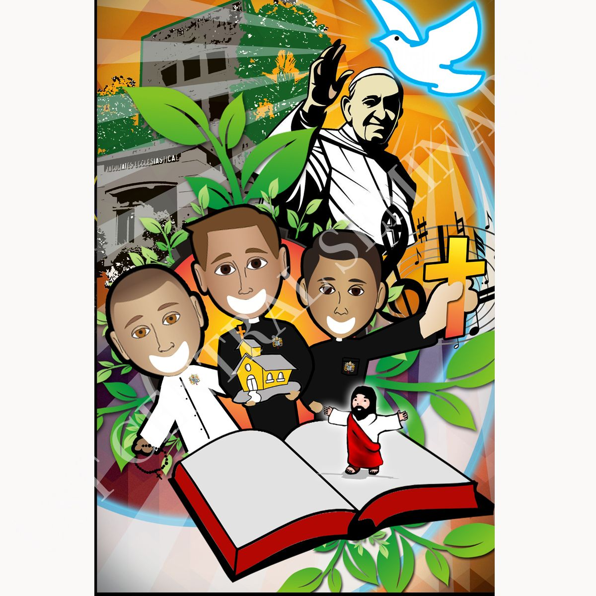 "With the theme ""Centralites: Called to be joyful Stewards of the Gospel,"" the UST Central Seminarians shared their reflection through Art, in both the traditional and digital media, as part of their participation in the ""Thomasian Expressions"" of love in line with the Apostolic Visit of Pope Francis to the Philippines. Thank you, UST-CS!"
