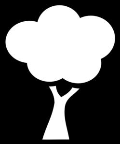 Clip Art Black And White Black And White Tree Clip Art Vector