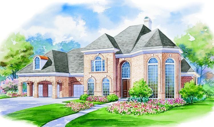 House Plan 402 00980 Luxury Plan 4 339 Square Feet 4