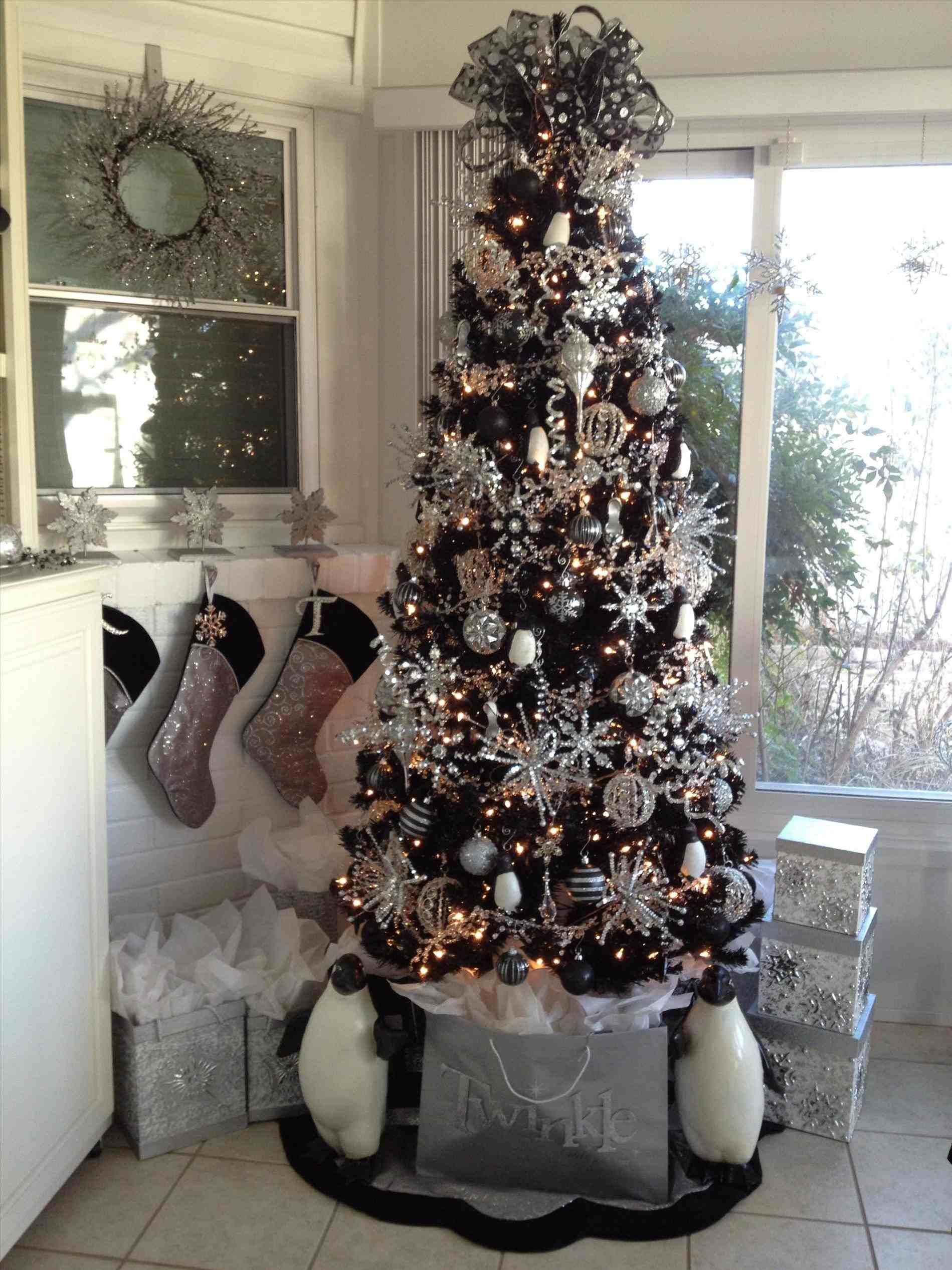 New Post Black And Silver Christmas Tree Interesting Visit Xmastsite