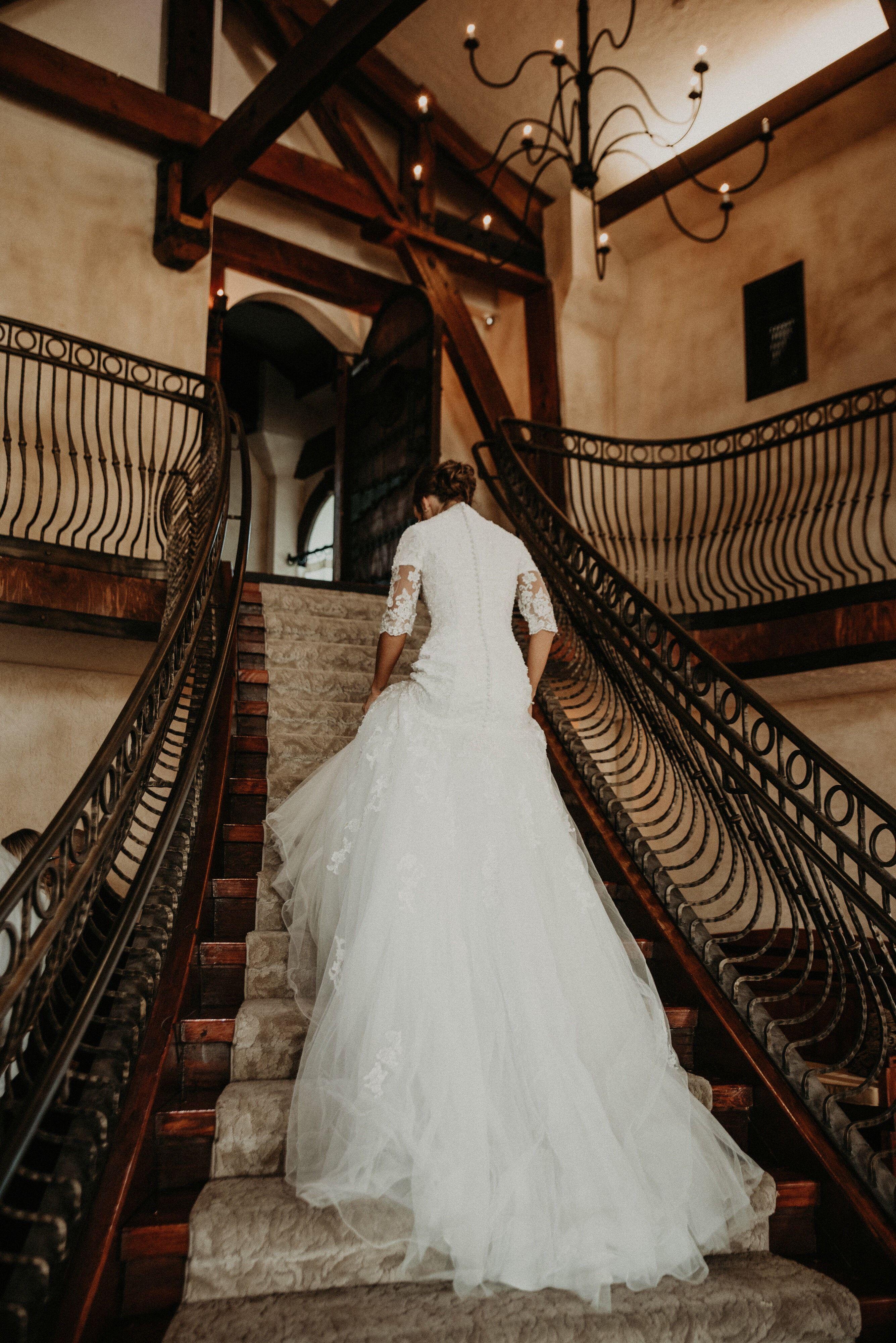 Malmrose bridal mormon modest dress modest modest