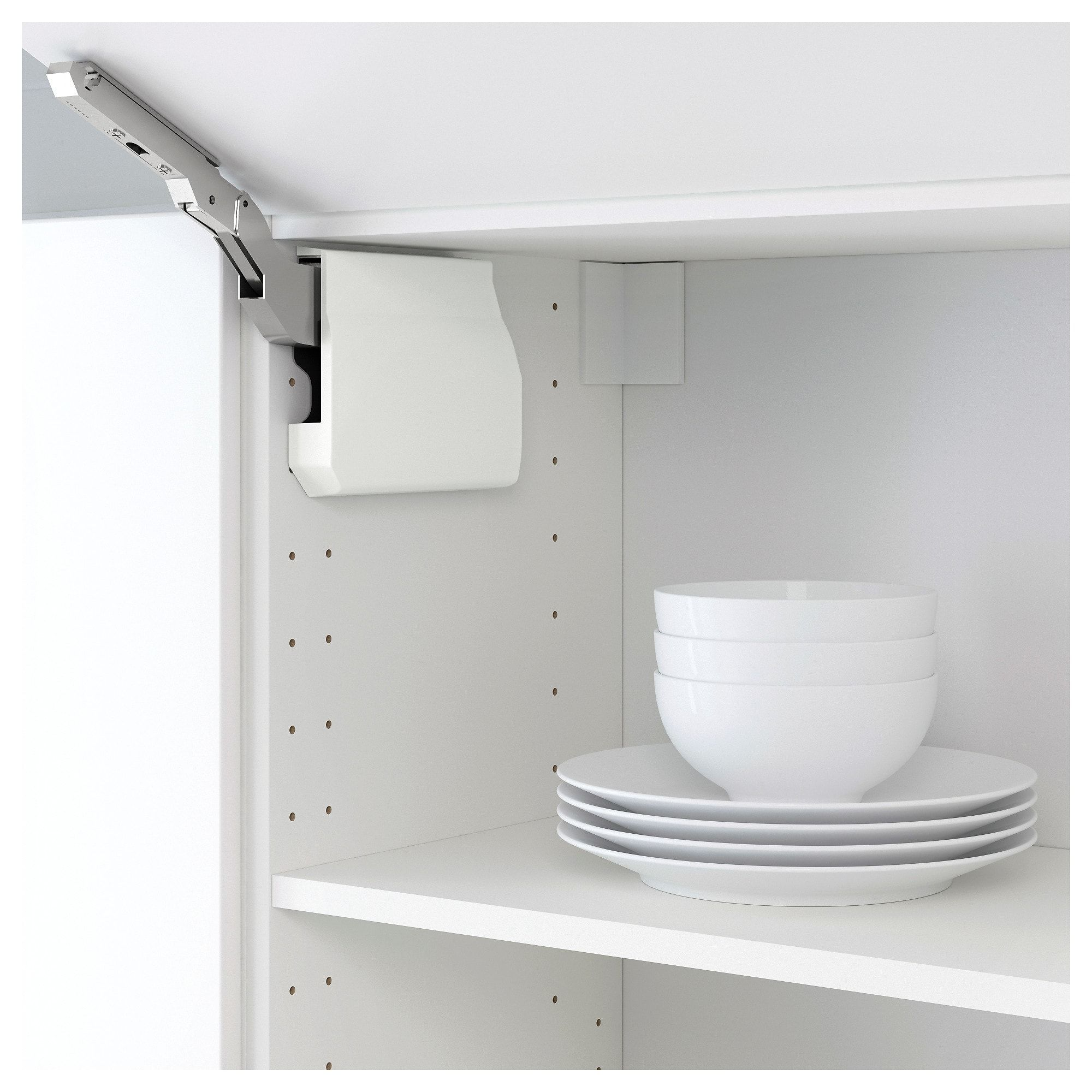 IKEA UTRUSTA Large hinge for horizontal door white