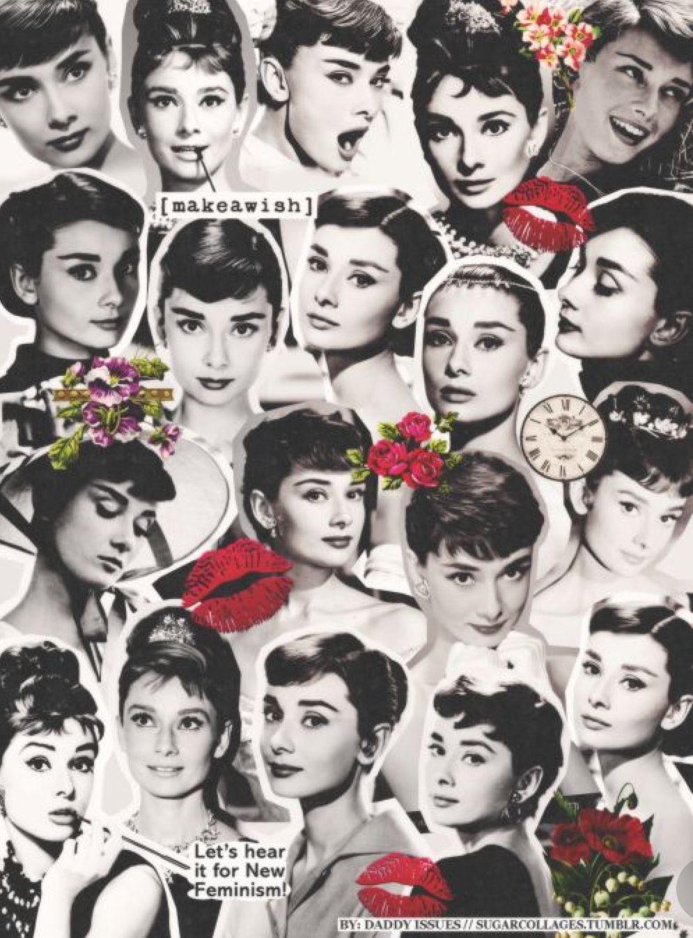 Pin By Mariya Makarova On Varias Audrey Hepburn Wallpaper Audrey Hepburn Art Audrey Hepburn