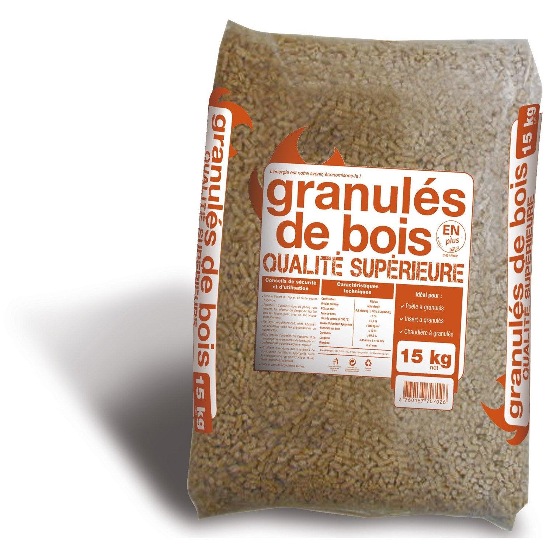 Granules De Bois En Sac 15 Kg Woodstock Coffee Bags
