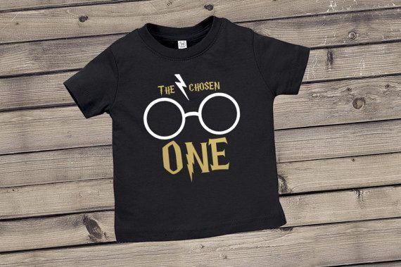 The Chosen One Infant Tee The Chosen One Infant Bodysuit Etsy Harry Potter Baby Birthday Boy First Birthday First Birthday Shirts