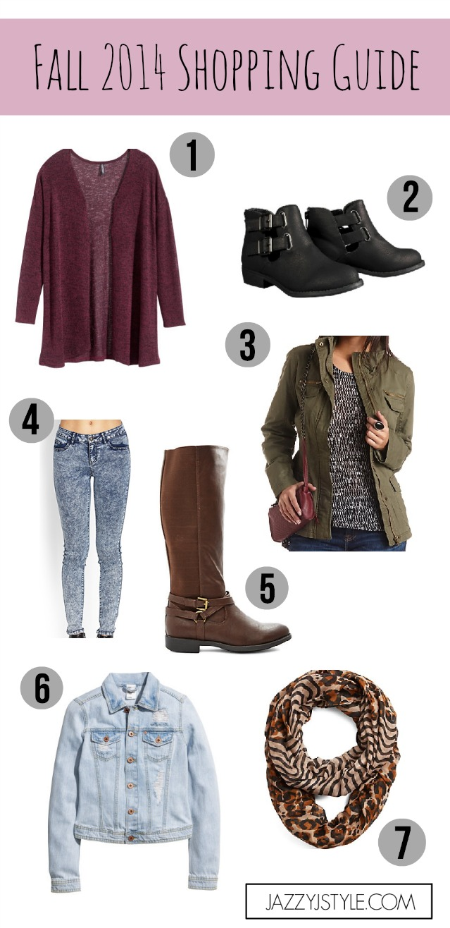 Fall Shopping Guide   Outfit Inspos