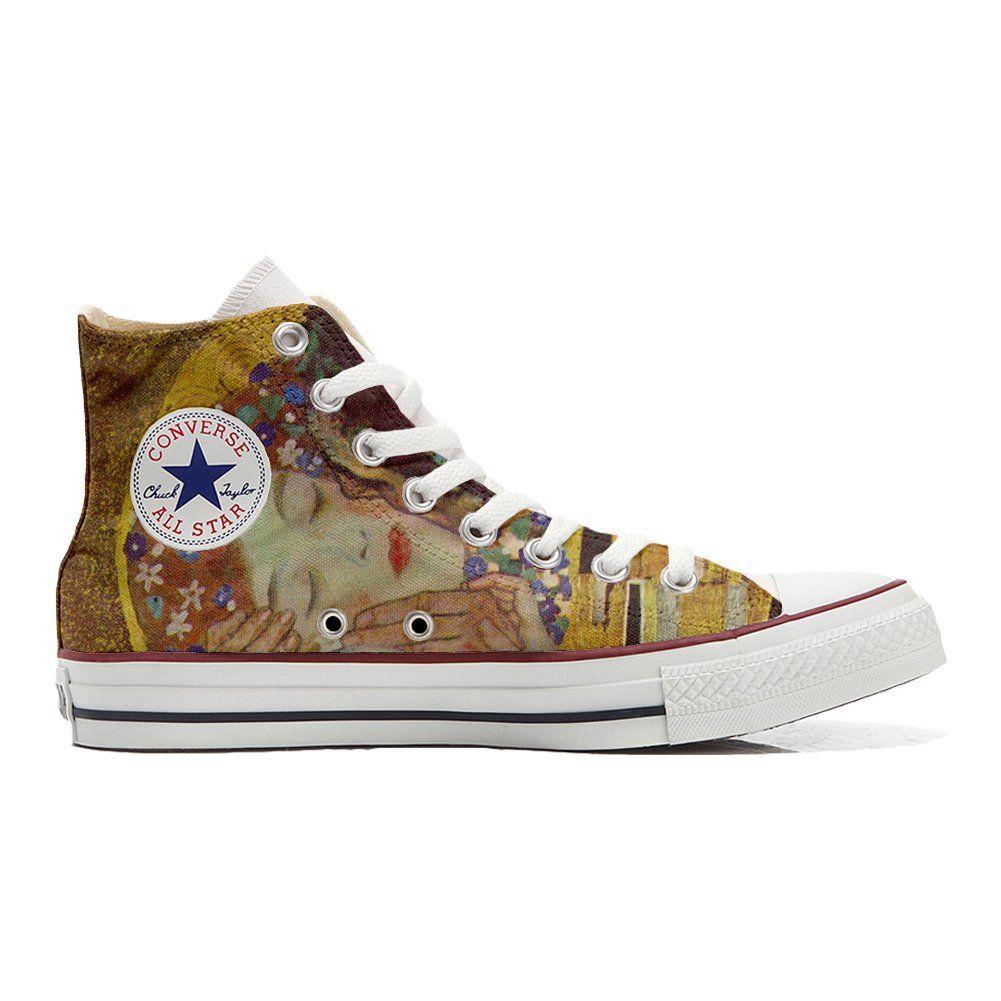 personnalisé All Star Converse chaussures Hi coutume TJclFK13u