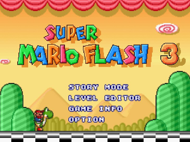 Super Mario Flash 3 Unblocked | Yandere Games | Yandere games, Super