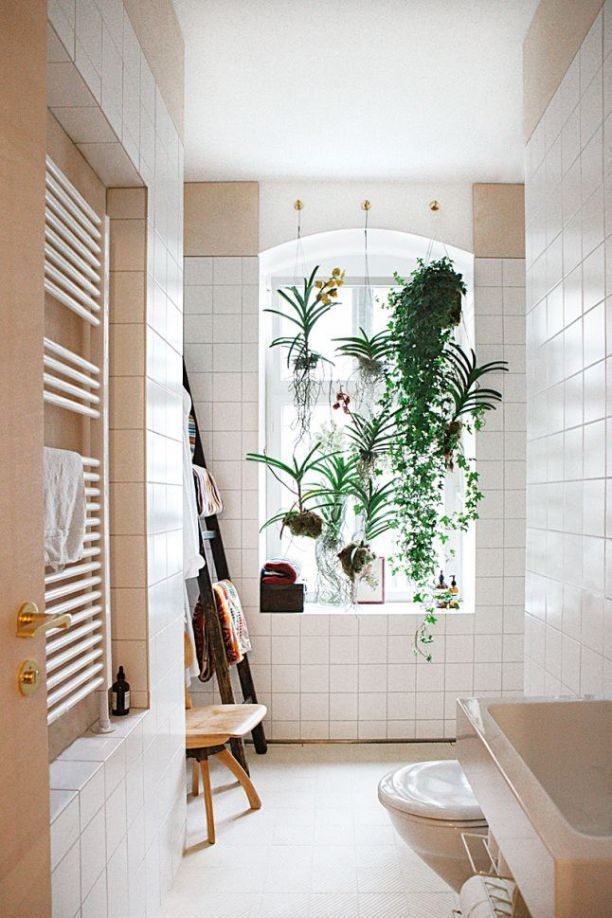 20 Ways to Add Plants in the Bathroom | Home decor ...