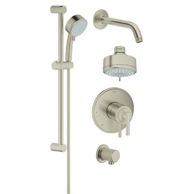 Grohe Grohflex Pressure Balance Shower Faucet With Valve Finish