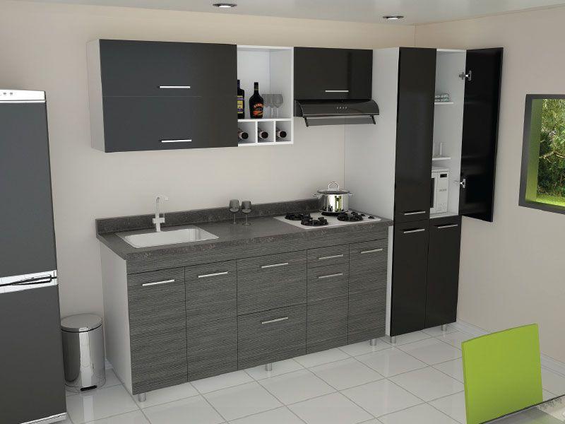 Resultado de imagen para cocinas integrales peque as cocinas for Cocinas integrales para casas muy pequenas