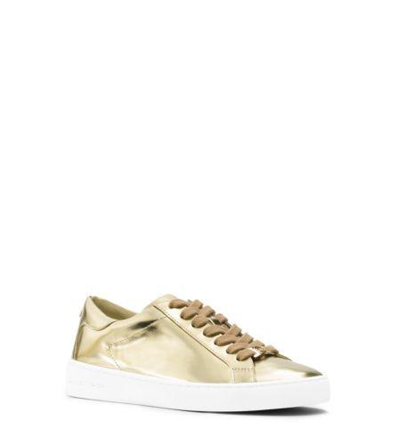d37c95eaa3e Keaton Metallic Leather Sneaker | Michael Kors | Pretty pretty ...
