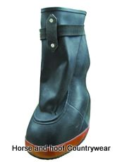 Marlow Rubber Poultice Boot A strong poultice boot constructed from flexible rubber designed to provide full protection to poultices and other hoof treatments.