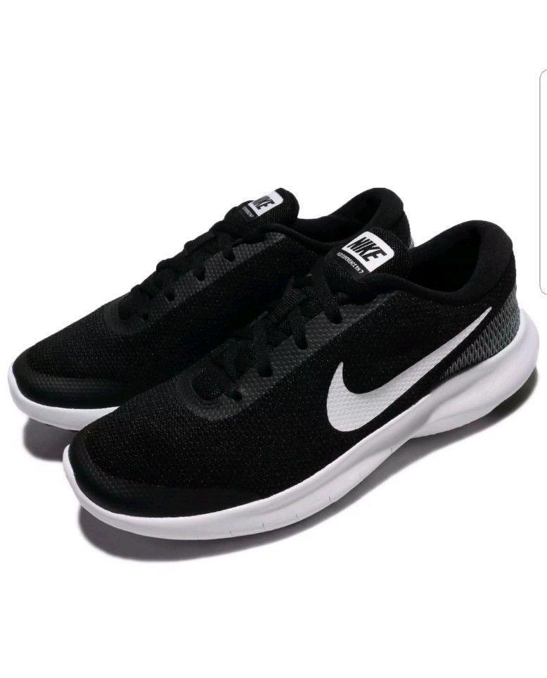 c972169073e5a NIKE FLEX EXPERIENCE RN 7 Mens Black White Running shoes SZ 13