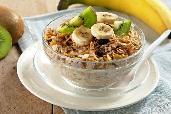 Sabes Cuáles Son Los Beneficios De Los Cereales Para Los Niños Receta De Muesli Desayuno Vegano Recetas Desayuno