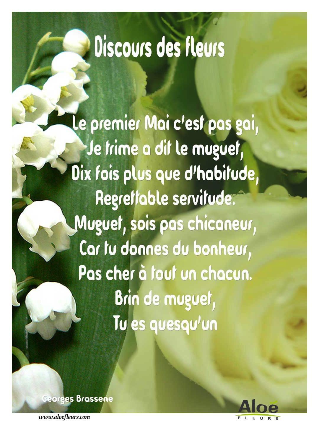 1er mai muguet discours des fleurs 1 mai pinterest bonheur - Images de muguet porte bonheur ...