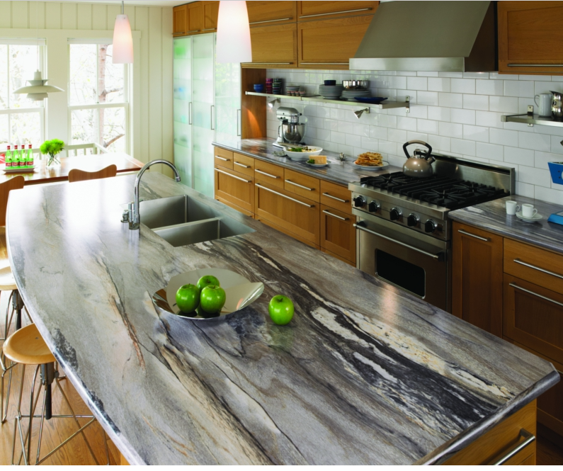 Kitchen Backsplash Same As Countertop: Quartz Countertops And Quartzite Are Two Popular Choices