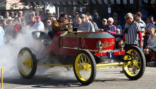 Https Myclassicgarage Com Social Posts  Hey Mister Your Car Is On Fire The Stanley Steamer