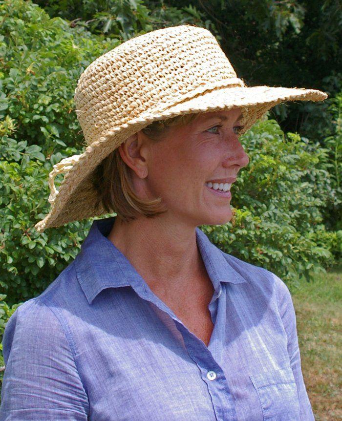 Hats On For Hot Weather Gardening Jpg 700 862 Pixels Raffia Sun