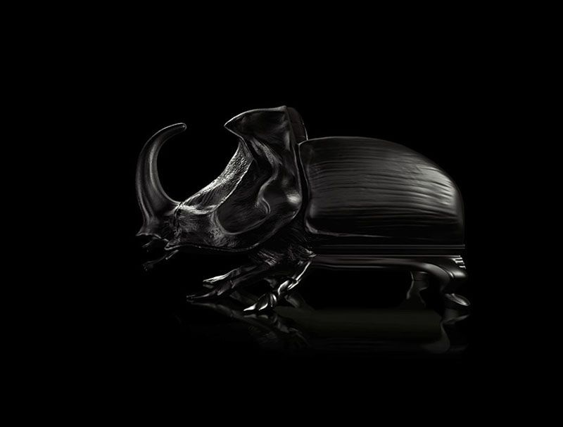 Oversized Insect Chair Shaping an Extraordinary Atmosphere: Beetle Chair - Pursuitist