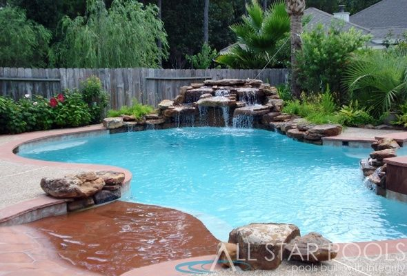 The Woodlands Pool Builder Home Pinterest Pool Builders Beautiful Pools And Swimming Pools