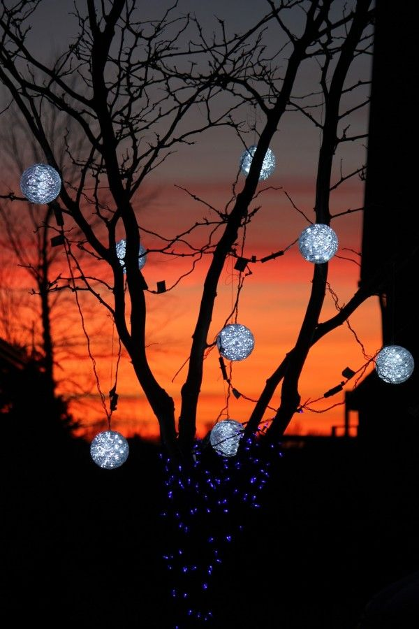 25 Sparkling Outdoor Christmas lights Inspirations Christmas