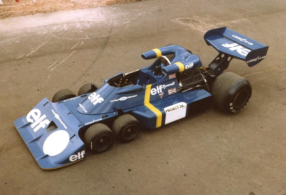 1976 Tyrrell P34 - Ford