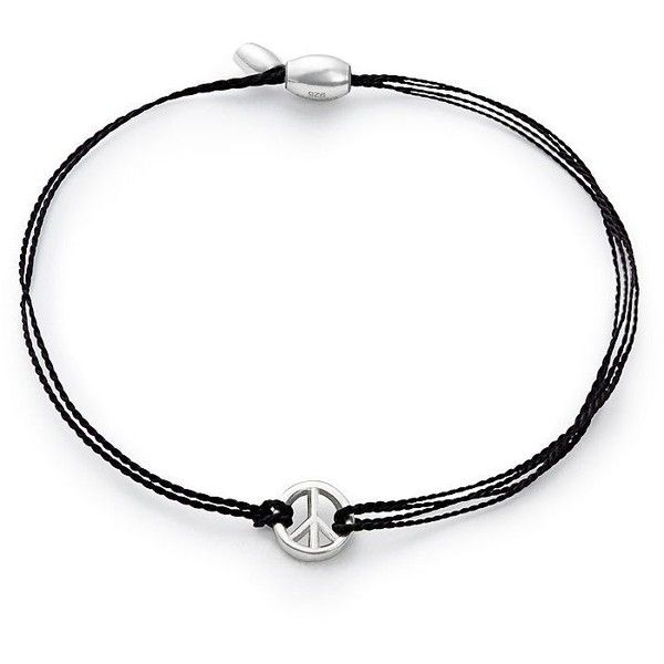 Alex And Ani Black Kindred Cord World Peace Bracelet 21 Liked On Polyvore Featuring Jewelry B Peace Bracelet Peace Sign Jewelry Sterling Silver Bracelets