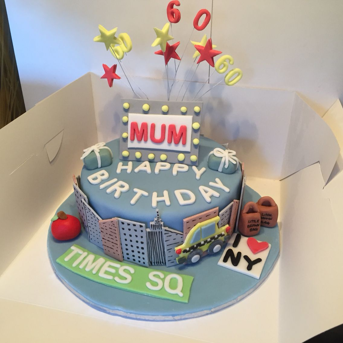 New York Birthday Cake My Cakes Pinterest Birthday Cakes And