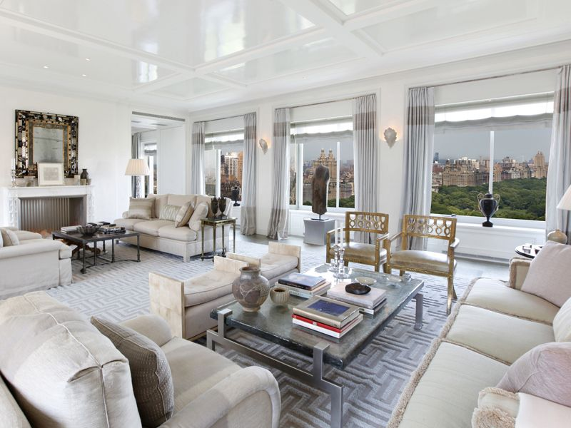 between the boxwoods central park home by michael smith home