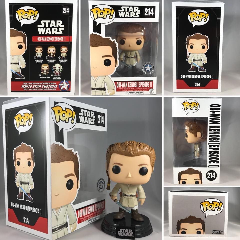 Obi Wan Kenobi (The Clone Wars) Funko Pop | eBay