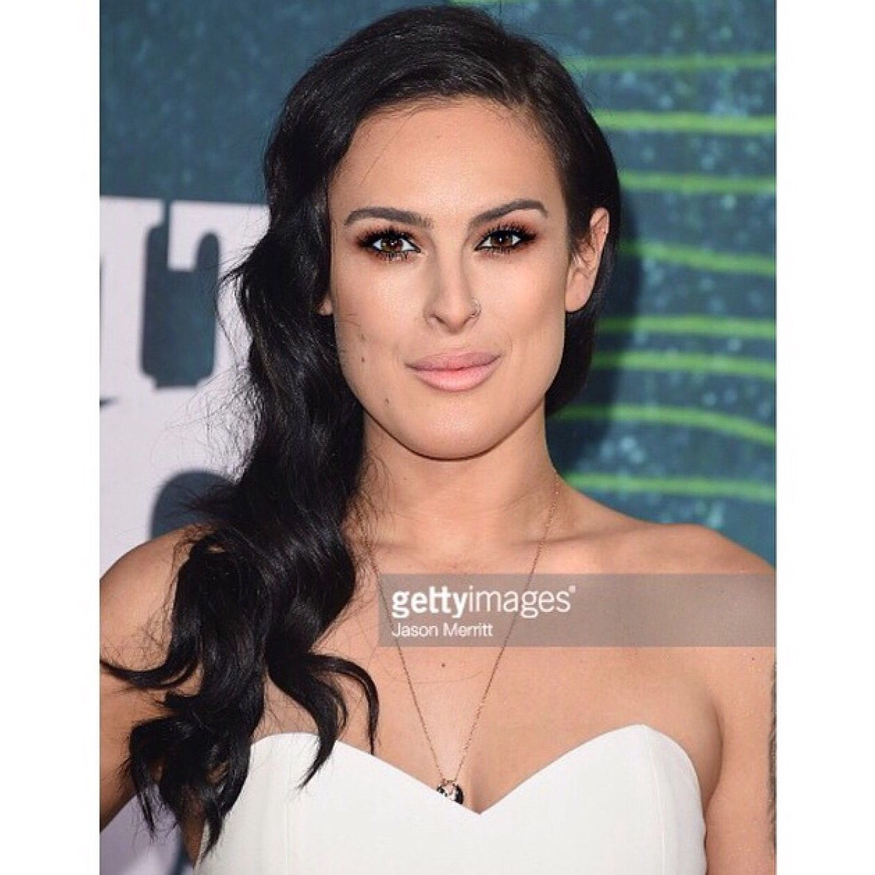 Wedding Hairstyle Nashville: Rumor Willis Wearing Lotus Lashes At The CMTs In Nashville