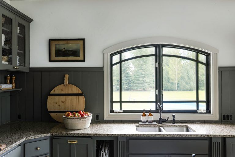 Our Modern Cottage Kitchen Makeover On The Cheap Modern Cottage Buying A New Home Kitchen Desk Areas