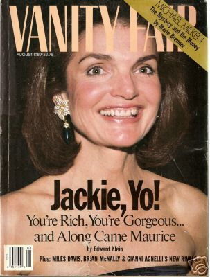 jackie onassis the patron saint of vanity fair magazine. Black Bedroom Furniture Sets. Home Design Ideas