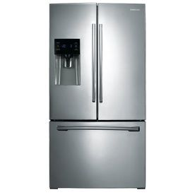 Samsung 25 6 Cu Ft French Door Refrigerator With Single Ice Maker Stainless Steel Energy S French Door Refrigerator French Doors Stainless Steel Refrigerator