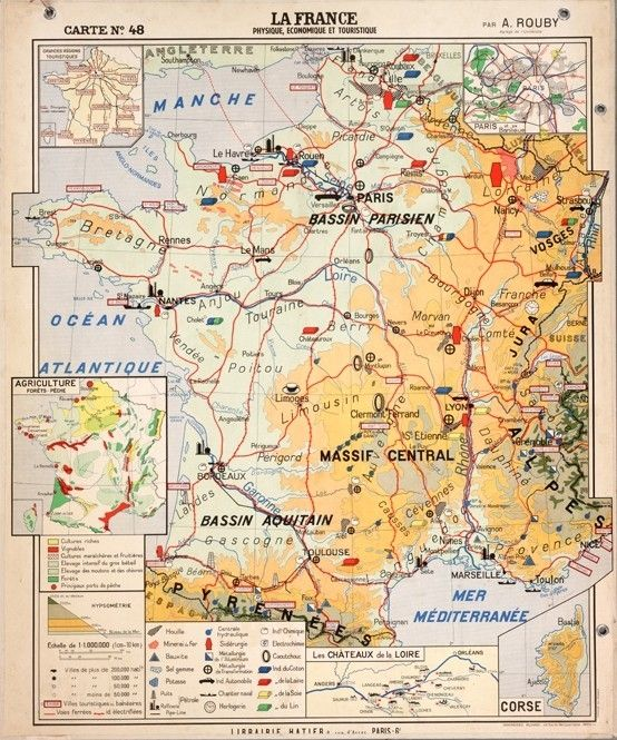 A4 Map Of France.La France For Wall In Some Future Apartment Maps France