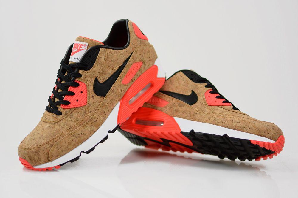 "The Nike Air Max 90 ""Infrared Cork"" Lands Overseas Next Week"