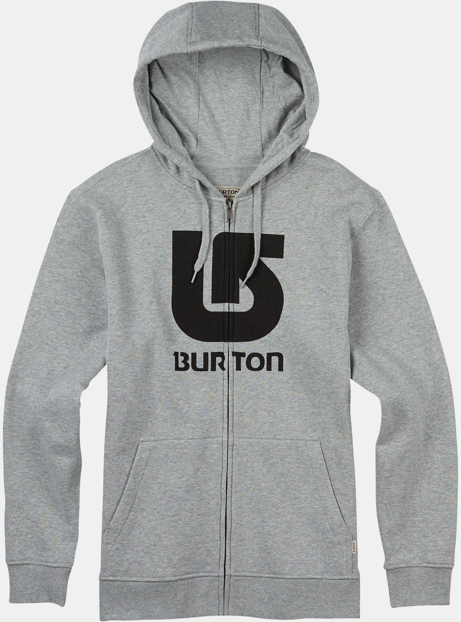 Burton Logo Vertical Full-Zip Hoodie  e6423c4cf5