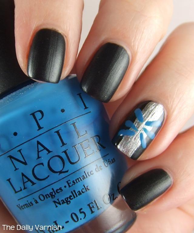 - Image Result For Carolina Panthers Nail Art Nails Pinterest