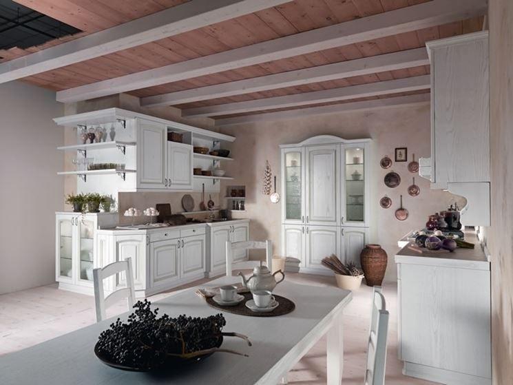Cucina Country bianca | casa mea | Pinterest | Cucine bianche ...