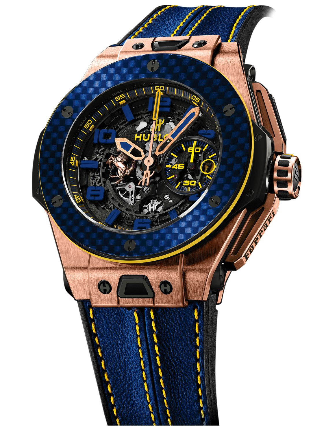 62c6526377f Hublot Big Bang UNICO Ferrari 45mm 401.OQ.0199.VR.FBR15 Brazil ...