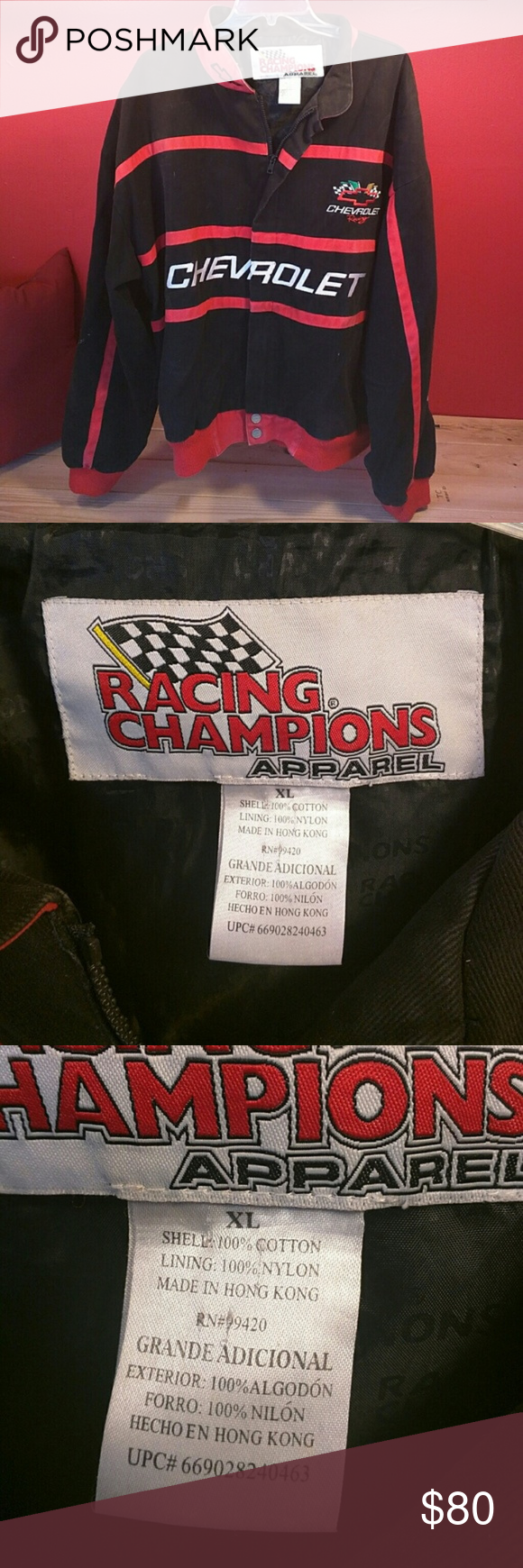 Nascar Chevrolet Racing Jacket This fantastic nascar