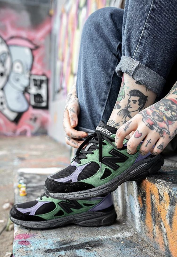 Stray Rats x New Balance 990 (With images) Mens fashion
