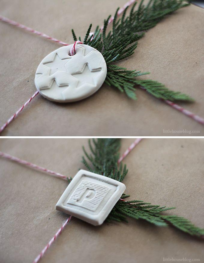 Aubrey & Lindsay's Little House Blog: diy clay tags