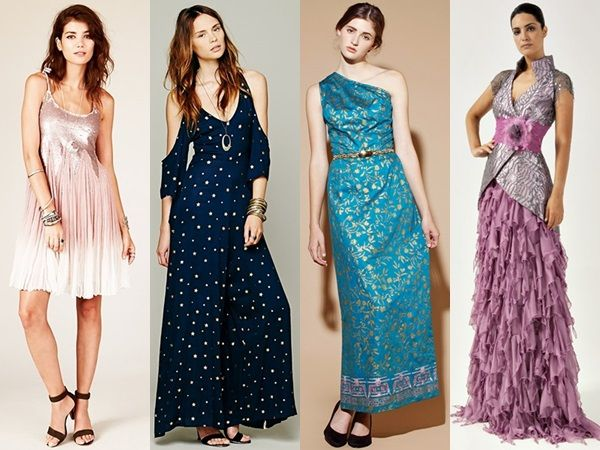 Bohemian Wedding Guest Dress. The navy one. | My Style Pinboard ...