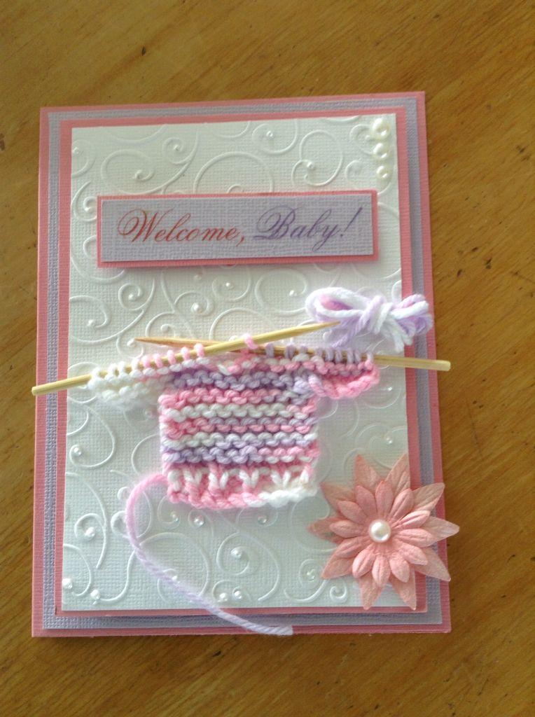 Baby Girl Welcome Card Baby Cards Handmade Baby Cards Handmade Girl Baby Cards